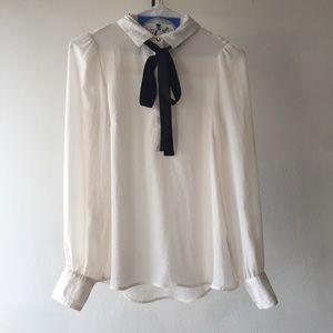 H&M tie blouse